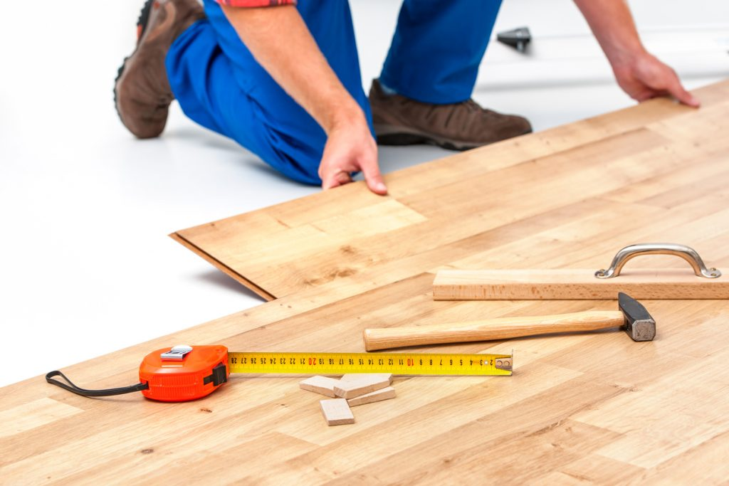 be your own handyman u2013 how to install laminate flooring