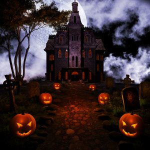 Create a haunted house in your home